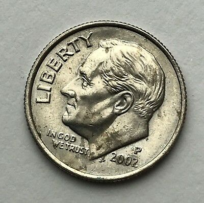 Dated : 2002 - American Coin - Roosevelt - One Dime - United States of America
