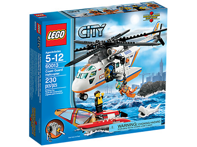 LEGO City Coast Guard Helicopter (60013) (Retired)