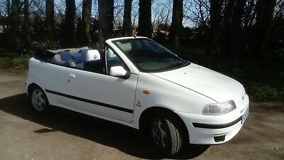 Fiat punto convertible, cabrio, beautiful only 72000 miles, 2 owners, summer fun