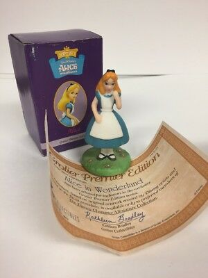 ALICE from ALICE IN WONDERLAND Disney Premier Edition Grolier Ornament Box