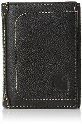 (TG. one size) Black Carhartt, 61-2200, Pebble Trifold Wallet, 61-a2200.BLK, ner