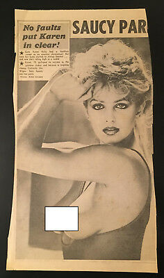 Kelly The Sun Page 3 >> Vintage Glamour Art Page 3 Sun Clipping Karen Kelly Circa