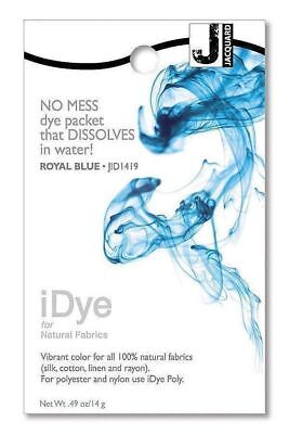 New Jacquard iDye Natural Fabric Dye Royal Blue