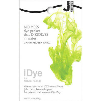 New Jacquard iDye Natural Fabric Dye Chartreuse