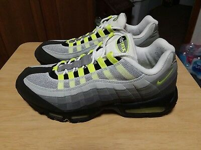 shop best sellers usa cheap sale incredible prices 2005 NIKE AIR Max 95 History of Air 313111 071 Charcoal Neon ...