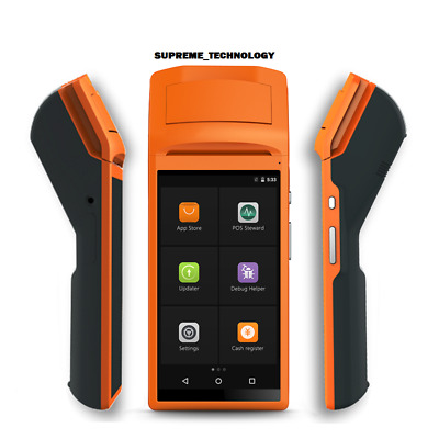 """POS  HANDHELD ANDROID PDA 5.5"""" TOUCH 3G Wifi,GSM, NEXT DAY  BROOKLYN, USA"""