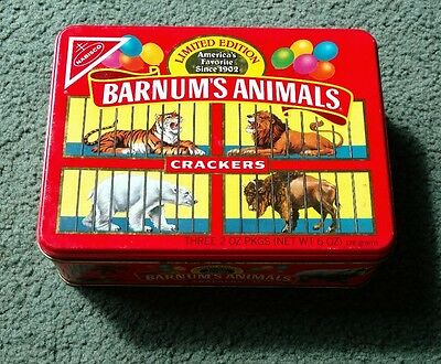 Barnum's Animals Crackers Limited Edition Tin