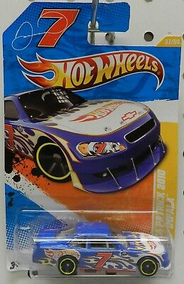 Nascar 7 Danica Patrick Chevy Impala 2011 Race Car 37 Nextel Cup Hw Hot Wheels