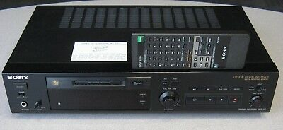 Sony MDS-302 MiniDisc Recorder, Original Remote, Tested Performance, Clean Cond