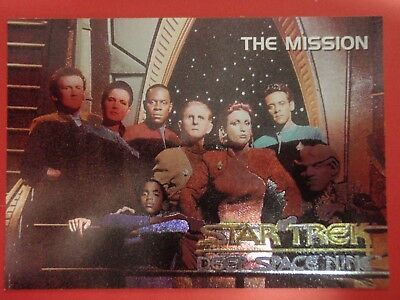 Star Trek : Deep Space Nine Spectra Foil Card : SP4 : 1993 SKYBOX