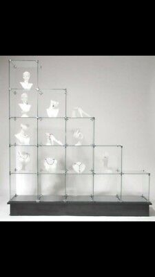 Shop Display Glass Cubes Cabinet
