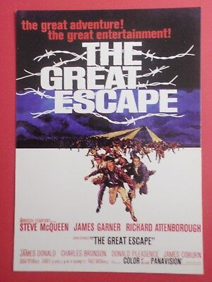 Postcard : The GREAT ESCAPE : Steve McQueen