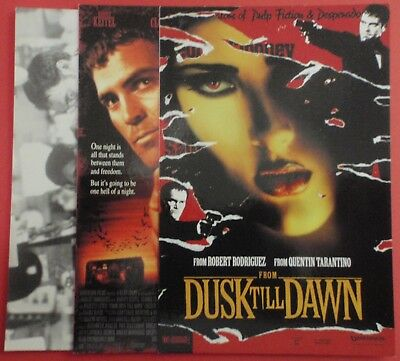 Postcard Lot of 3 : FROM DUSK TILL DAWN : Robert Rodriguez / Quentin Tarantino