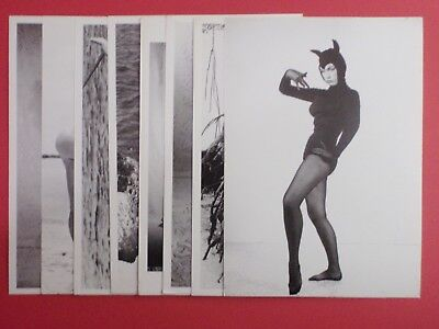 Postcard Lot of 9 : BETTY PAGE B/W : Bunny Yeager