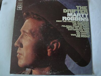 Marty Robbins The Drifter Vinyl Lp 1966 Columbia Records The Wind Goes, Stereo
