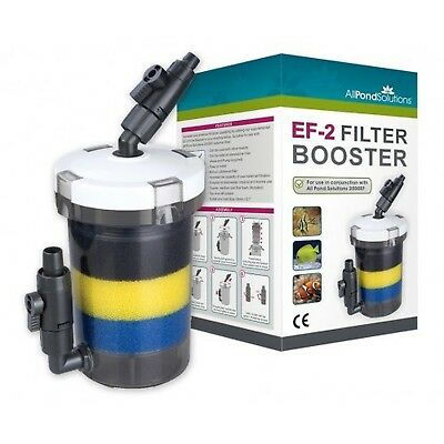 All Pond Solutions EF-2 External Filter Booster Supplimentary Canister, 2.3 L...