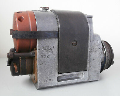 Rare Bosch FU4 B RS29-T 4 Cylinder Magneto for Fordson Tractor/Bentley 4 1/2 Ltr