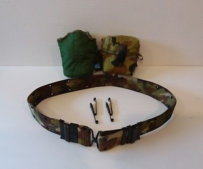 australian ARMY belt & accessories pouch bag pack canteen clips MILITARY camo