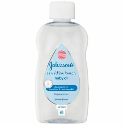 Johnson's Baby Sensitive & First Touch Baby Oil 200ml 1 2 3 6 12 Packs
