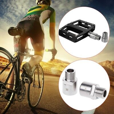"Titanium//Steel Road Bicycle Pedals Extension Shaft Extender 9//16/"" Thread 20mm K"