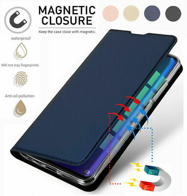 For Huawei Y6 Y7 Y9 Prime 2018 Luxury Leather Flip Magnetic Wallet Case Cover