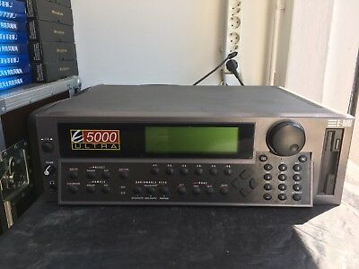 EMU E5000 Ultra Sampler mit 128MB-RAM E-MU Systems Emulator MADE IN USA