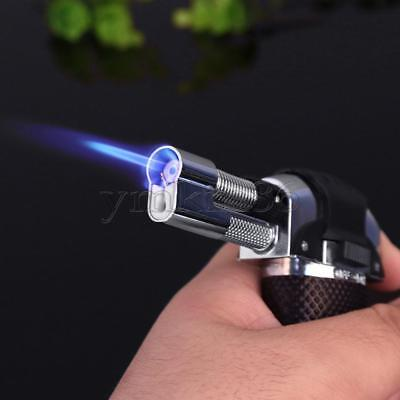 New Jet Torch Gun Windproof Lighter Gas Trip Flame Refillable Micro Butane