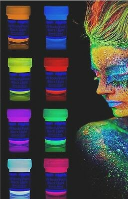 Neon Nights luce UV Body Painting schminke  colore per Body e Face Pai Ting
