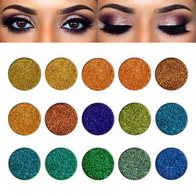 Shimmer Glitter Eye Shadow Powder Palette Matte Eyeshadow Cosmetic Makeup HWZ
