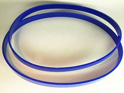 """12"""" X 1"""" Set of 2 Polyurethane Band Saw TIRE 1/8"""" ULTRA Thick Thick Made in USA"""