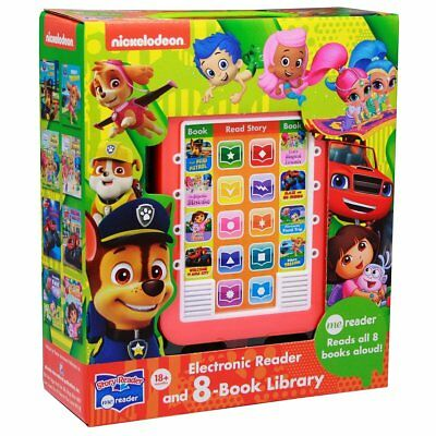 ME Reader Nickelodeon - Electronic Reader and 8-Book Library
