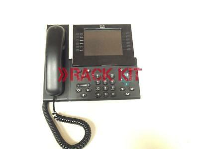 Cisco CP-9971-C-K9 Unified IP Phone VoIP 9971 scratched faceplate