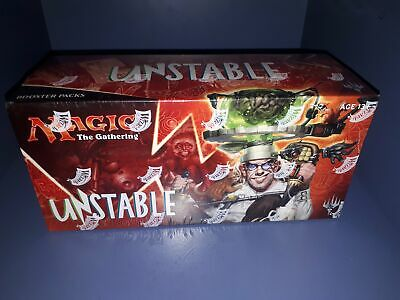 "New Wizards of the Coast Sealed box of ""Unstable"" Booster Packs"
