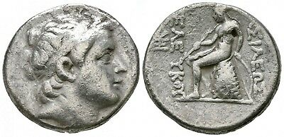 Silver tetradrachm of Antioch on the Orontes. Seleukos III Keraunos 226-223 BC