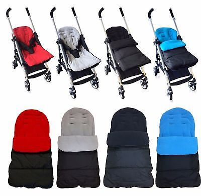 Universal Pushchair Stroller Buggy Cosyto Footmuff Fitting Luxury Fleece Line YH