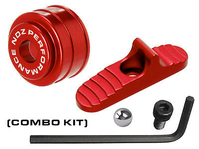 for Mossberg Shotgun 500 590 835 930 935 Slide Safety Mag Follower Kit Red 12GA