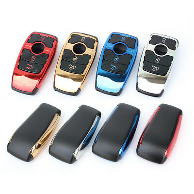 Remote ABS Car Key Case For Mercedes Benz E S Class Key Bag Shell Cover Holder