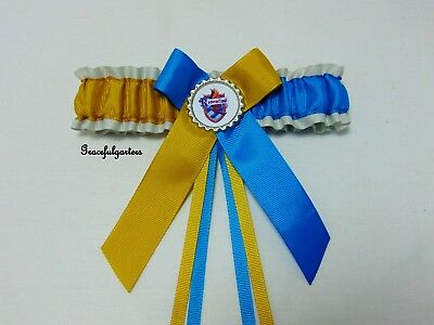 Plus Size Ravenclaw Bridal Wedding garter. Harry potter.