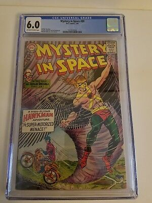 Mystery in Space #89 2/1964 Featuring Hawkman/Adam Strange CGC Certified 6.0