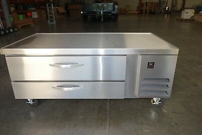 "Beverage Air WTRCS60-1 60"" Two Drawer Refrigerated Chef Base"