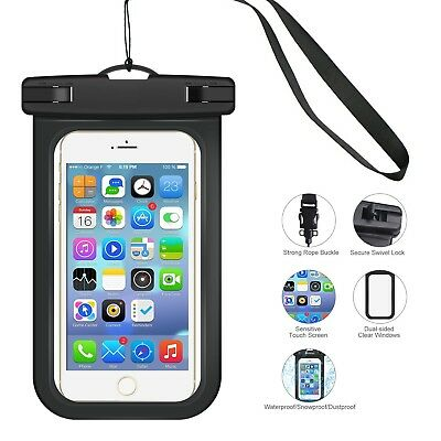 Waterproof Phone Case Bags Cover Pouch For Mobile Phone iPhone Samsung Universal