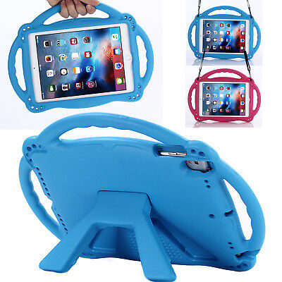 """Strap Kids Safe EVA Handle Shockproof Cover Case For iPad 6th 9.7"""" 2018/2017/Air"""