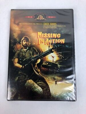 Missing in Action (DVD, 2000) Chuck Norris  BRAND NEW Fast Free 1st Class Ship
