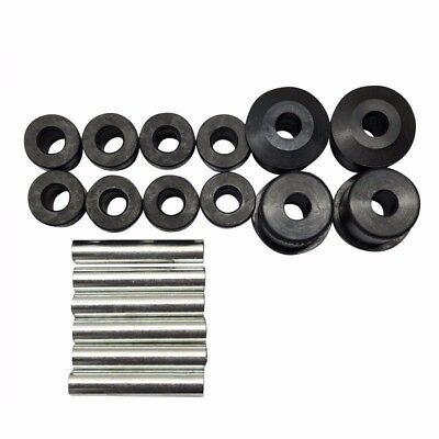 Complete Rear Leaf Spring Bushing & Sleeves Kits for EZ-GO RXV Golf Cart 2008 up