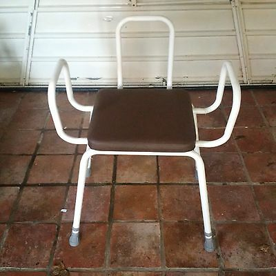MEDICAL SHOWER ADJUSTABLE Chair Bathtub Bench Bath Seat Stool ...