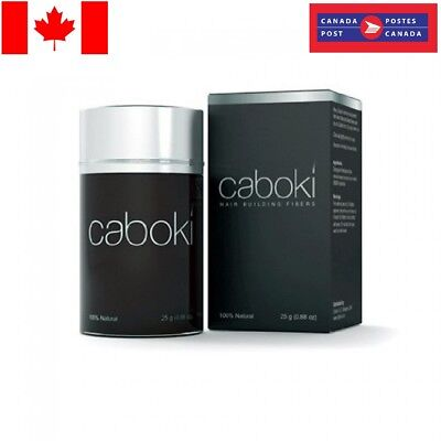 Genuine Caboki Hair Loss Fibres 25g Large Bottle - FREE Canada POST SHIPPING