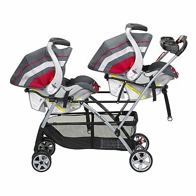 JOOVY TWIN ROO+ Infant Car Seat Frame Stroller - $135.00 | PicClick