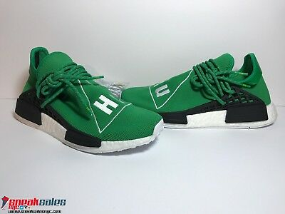 uk availability 93040 5dfbb ADIDAS PHARRELL WILLIAMS NMD Human Race Green BB0620 Size 8 Brand New