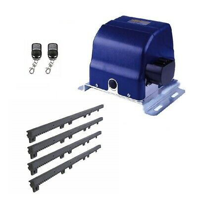 ALEKO Basic Kit Sliding Gear Rack Driven Opener For Gate Up To 30-ft 900-lb