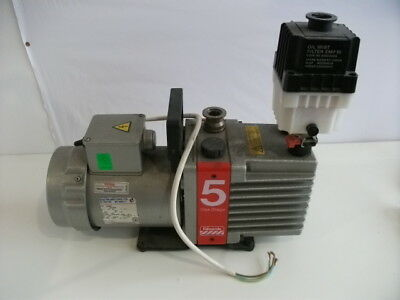 Edwards 5 ONE STAGE Vacuum Pump E1M5 with Oil Mist Filter EMF10
